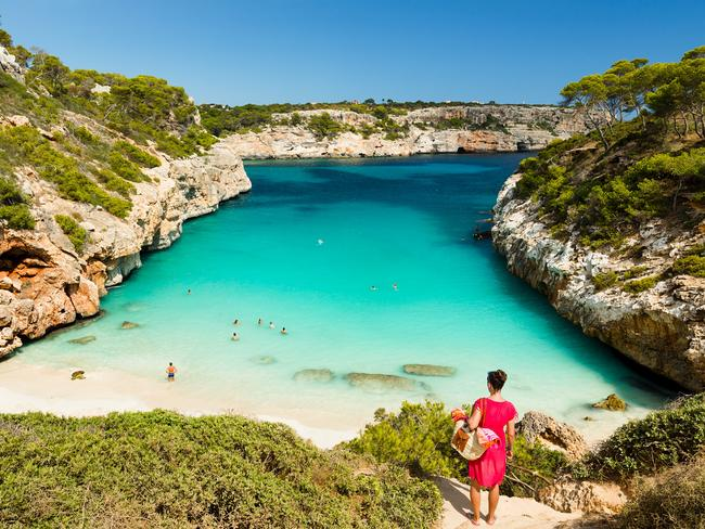Mallorca, Spain is a popular spot for high-profile tennis stars to live.
