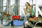 <p>Moving ... Ricki-Lee after she was voted off Australian Idol, at Sydney Airport before heading to Melbourne. Picture: Marc Mccormack</p>