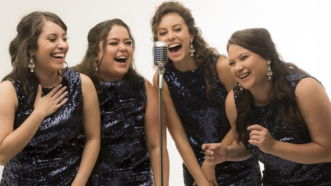 Stage musical The Sapphires will perform at Parramatta's Riverside Theatre. Picture: Supplied