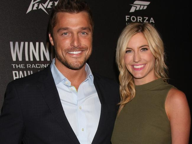 Chris Soules and former fiancee Whitney Bischoff. Picture: @Parisa/Splash News