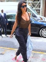 Kim Kardashian seen out in Manhattan, New York City on September 9, 2016. Picture: Getty