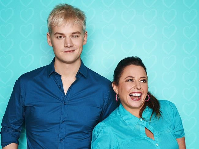 Myf Warhurst and Joel Creasey will host the event. Picture: AAP Image/Supplied by SBS