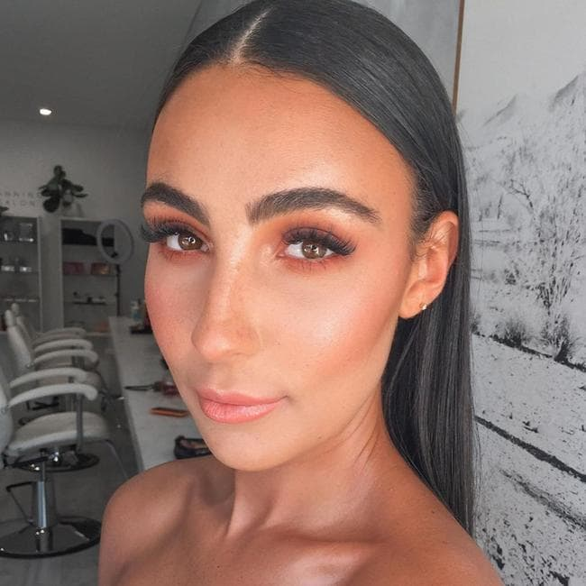Former Love Island winner Tayla Damir has released a five-product range with Australian brand MCoBeauty this week including a mascara that could rival Rhi-Rhi's. Picture: Instagram/Tayla Damir