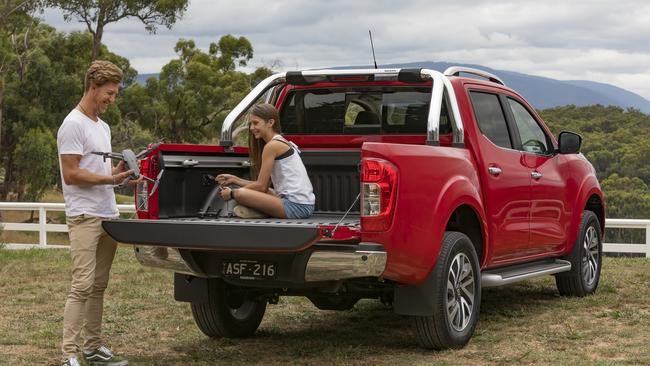 The Navara is missing crucial safety kit.