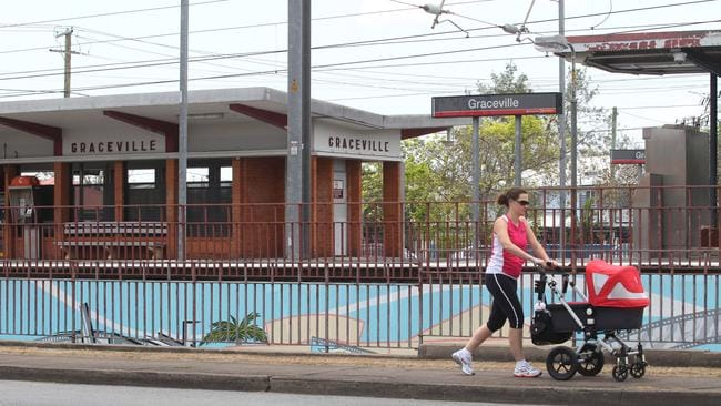 A file photo of Graceville Railway Station. Picture: Philip Norrish.