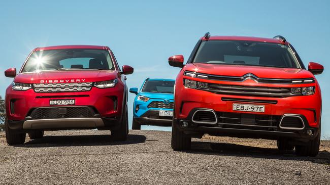 Only one of these cars will make the final cut for car of the year.
