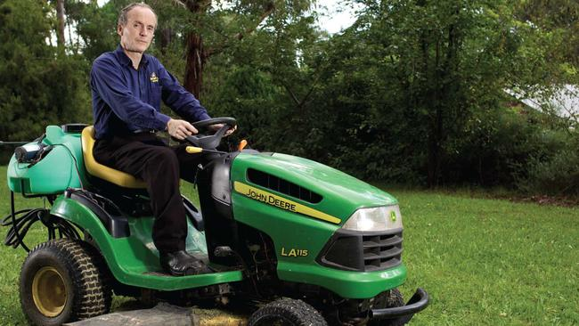Jim's Mowing has 4000 franchisees servicing 35,000 customers a day. Picture: Supplied