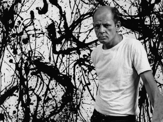 Artist Jackson Pollock was killed in a car accident in 1956. (Pic: Alex Towle)
