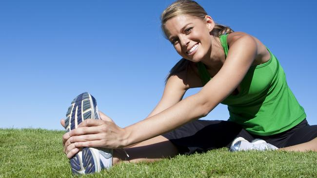 Tell-tale sign ... Exercise regimes can become unhealthy if teens skip social outings to go to the gym. Picture: Thinkstock