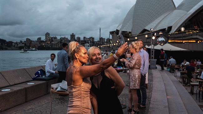 Selfie time. Picture: Flavio Brancaleone/NCA NewsWire