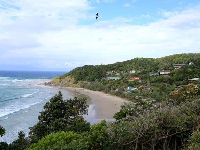 The Byron Bay area is popular with celebrities. Picture: Tim Marsden