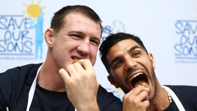 Paul Gallen and Billy Dib.