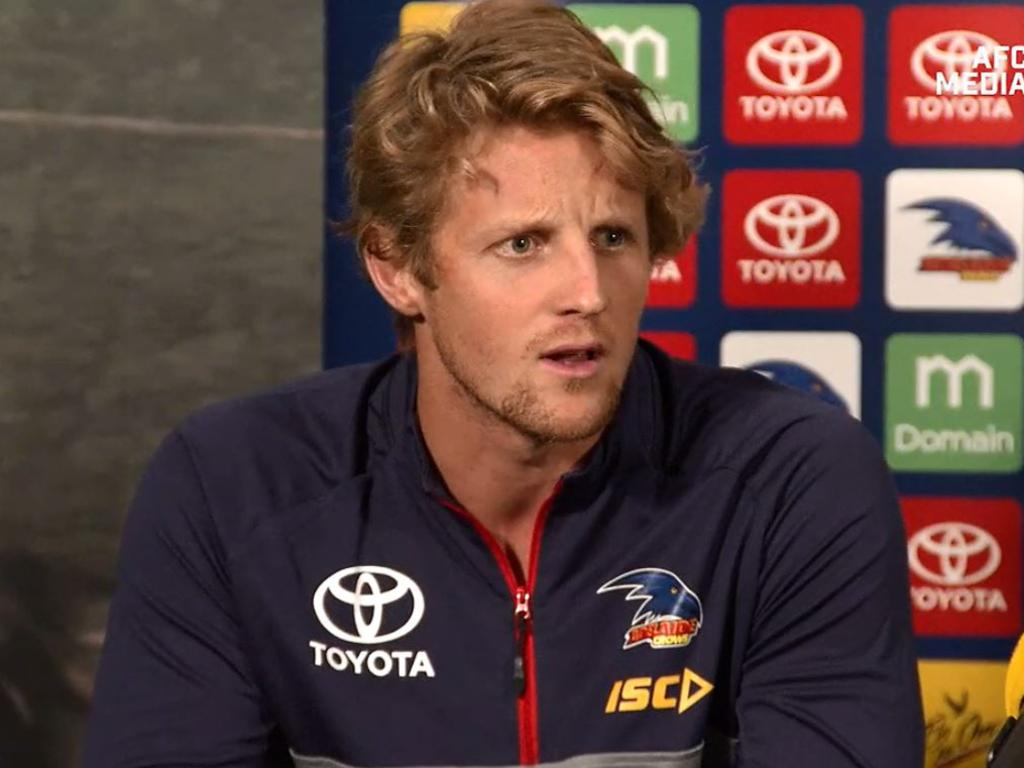 Adelaide's Rory Sloane discusses his new co-capain role.
