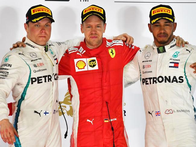 Ferrari and Mercedes are shaping as the two main title contenders once again.