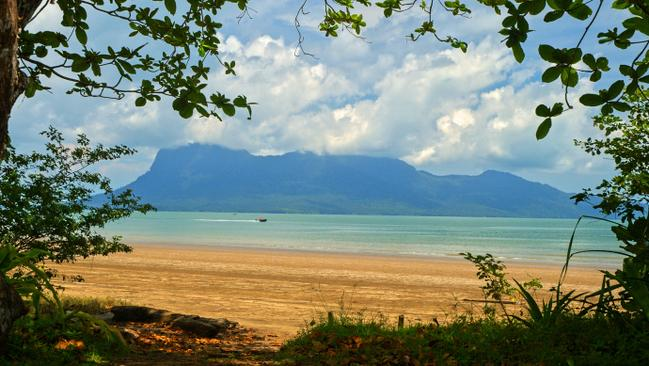 Beautiful Bako National Park in Borneo.