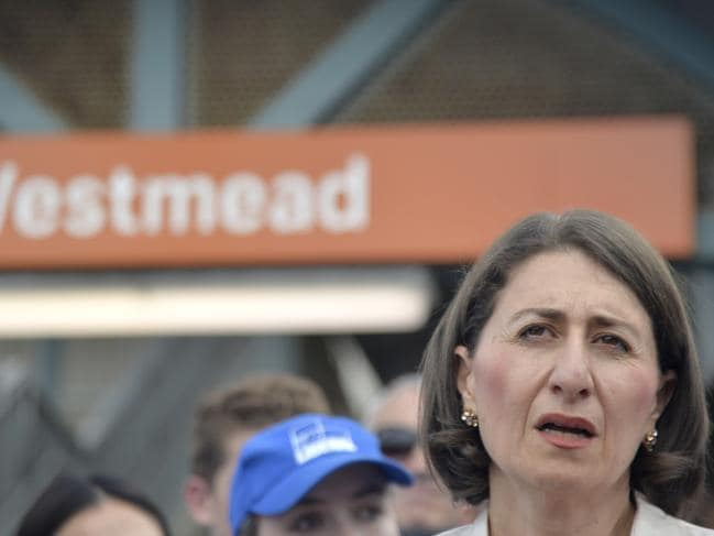 Ms Berejiklian announced she will spend an extra $3.4b on the Metro West if she wins this month's election.