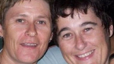 Alice Springs locals Claire Hockridge and Tamra McBeath-Riley. Picture: NT Police