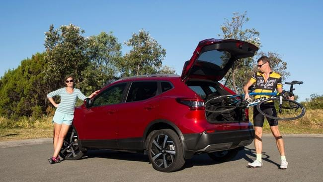 The Qashqai is bigger than most small SUVs but smaller than the average mid-sizer too.