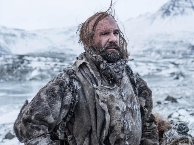 Rory McCann as The Hound in the final season. Picture: Helen Sloan/HBO
