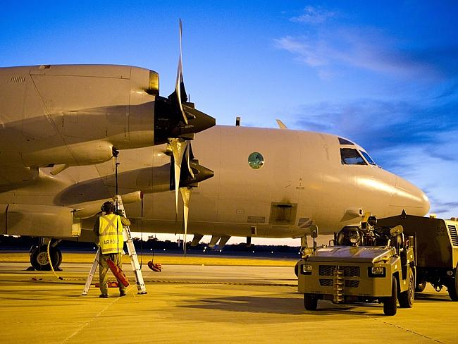 AP-3C Orion in Bullbrook, Western Australia.
