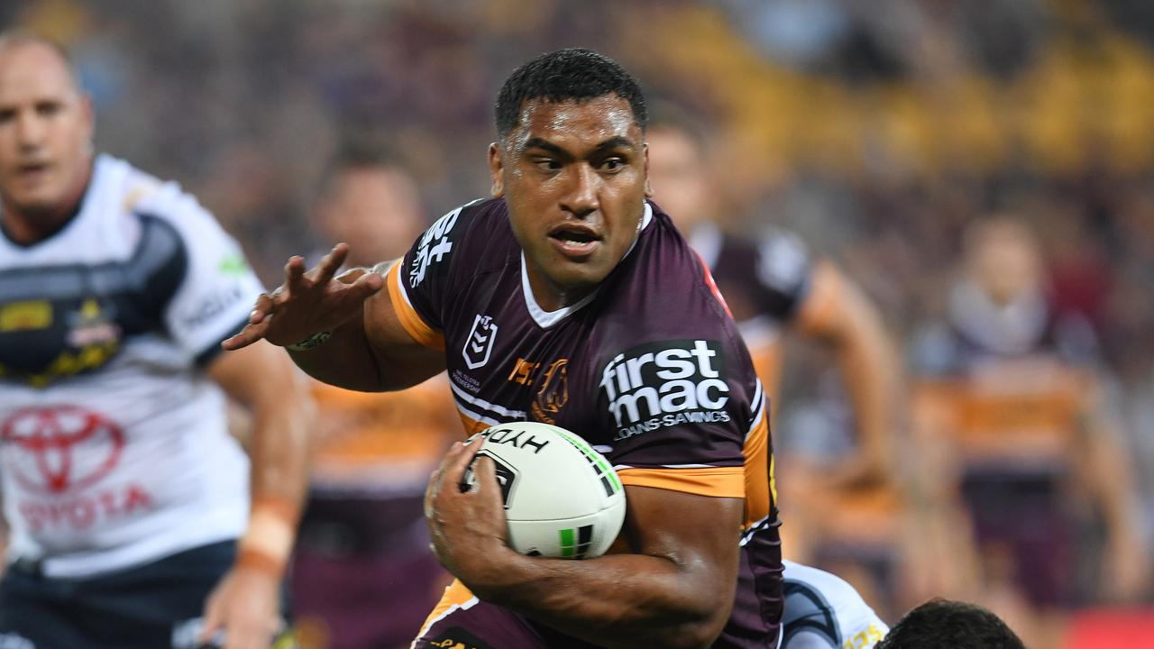 Tevita Pangai Junior was in sensational form for the Broncos in Round 2 setting Blues fans tongues wagging.