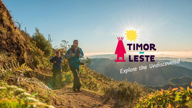The Timorese Government's campaign to attract more tourists to Timor-Leste. Pic: Supplied