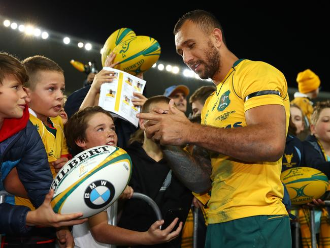 Time for the Wallabies to pull their finger out, says Jack Quigley.