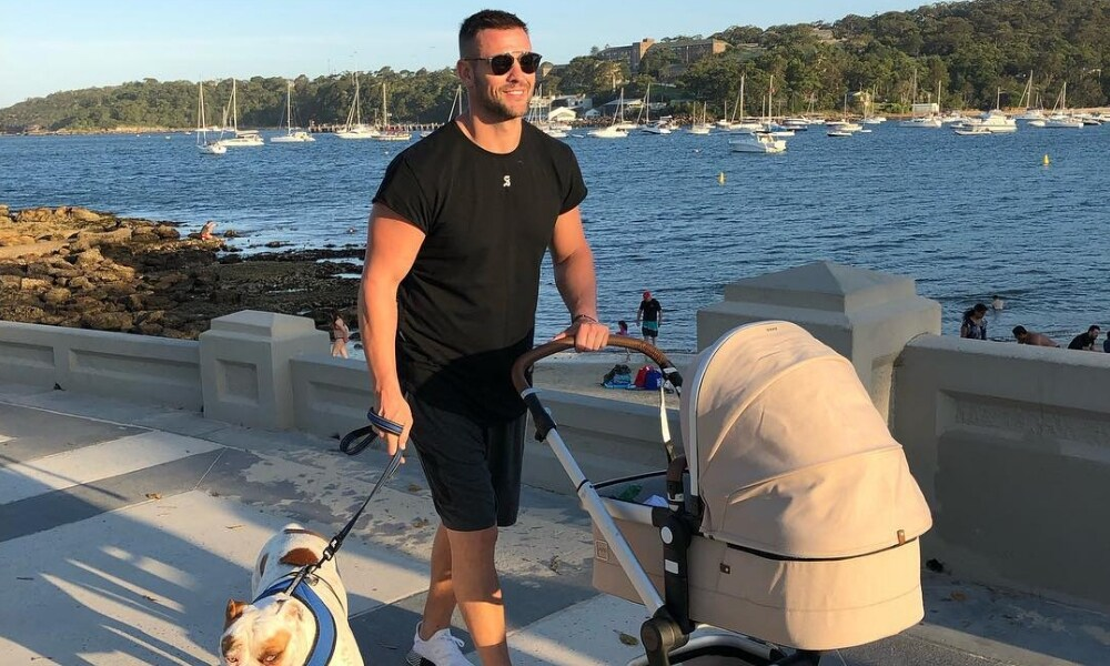 "<b>Walks with baby AND fur baby</b>  <p>""Walking off the Christmas activities, before I go home and eat the leftovers from the activities,"" Kris wrote.</p>  <p><i>Source: Instagram</i></p>"