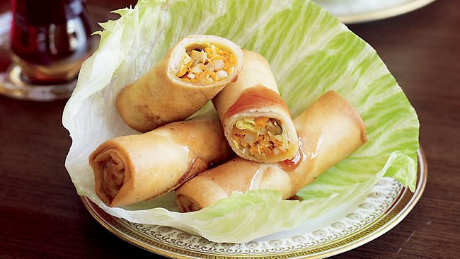 Spring rolls are always a favourite with travellers everywhere. Picture: Supplied