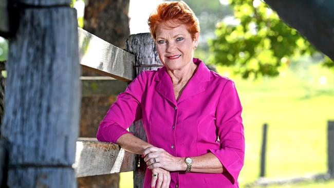 Support for Pauline Hanson's One Nation has collapsed further. Picture: AAP