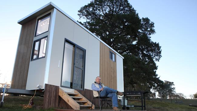 The tiny house movement is picking up pace in Australia. Picture: AAP / Robert Pozo