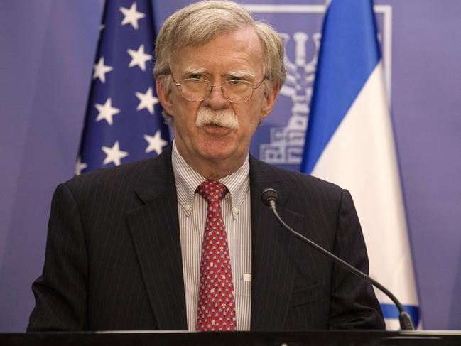 National Security Adviser John Bolton. Picture: AP