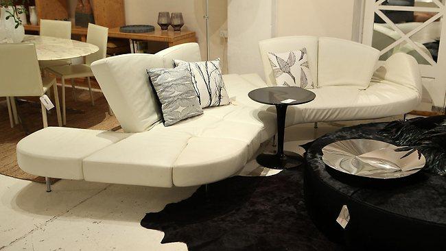 Scott Fasou0027s Home Furniture On Consignment, Alexandria, Sydney   Flap Sofa  By Francesco Bifare For Edra $7040 Pic : Adam Knott. Design