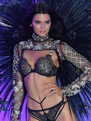 Kris was in New York watching Kendall storm the Victoria's Secret runway. Picture: AFP