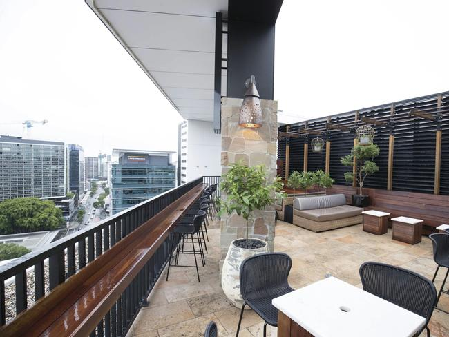 Eleven Rooftop Bar. Picture: Brisbane Tourism