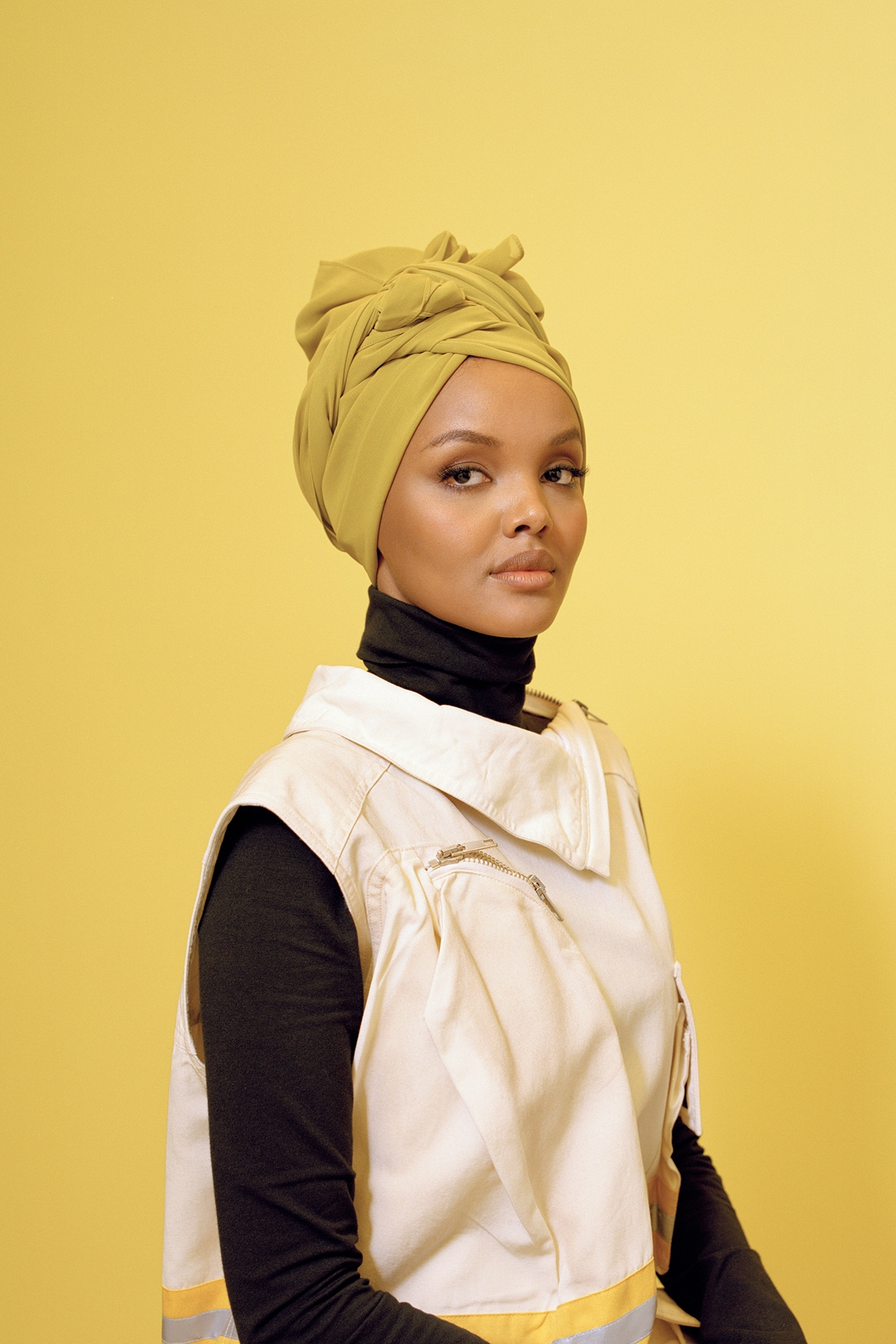 Behind the scenes at New York Fashion Week with Halima Aden