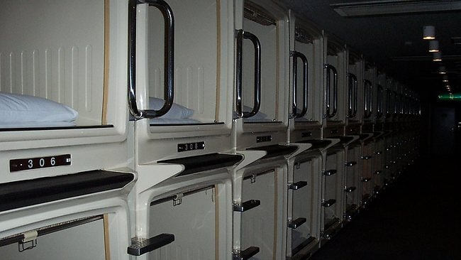 Capsule Hotel Living Like A Giant In Japan
