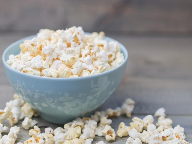 Two cups of popcorn is just 50 calories.