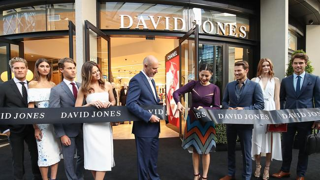 David Jones opened the first of its miniature department stores in Sydney's Barangaroo in 2016.