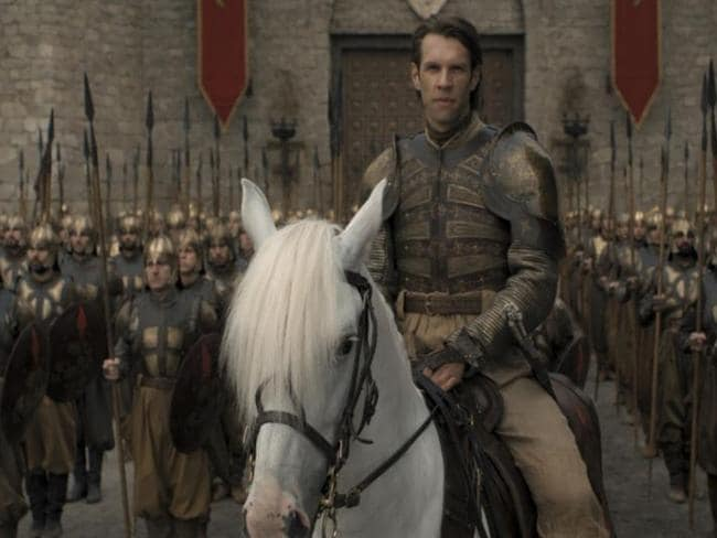 The Golden Company army led by Captain Strickland. Picture: HBO