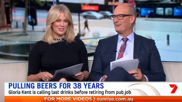 Sam Armytage took at cheeky swipe at her co-host's magazine cover — but Kochie didn't seem to mind