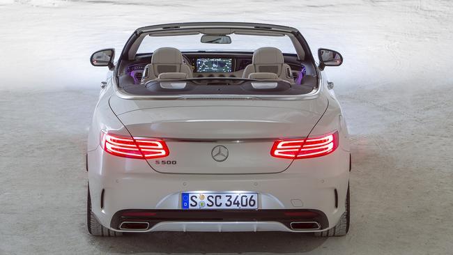 2016 Mercedes-Benz S500.