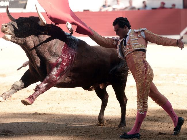 Spain's royal family paid tribute to matador Ivan Fandino. Picture: AFP/Iroz Gaizka