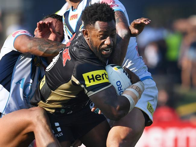 James Segeyaro has been left out of the Panthers 18-man squad for this weekend.