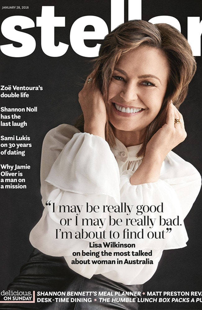 Lisa Wilkinson on the cover of Stellar. Credit: Todd Barry/Stellar