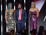 "Sheppard presents the ""Best Group"" Awards at the 30th Annual ARIA Awards 2016 at The Star on November 23, 2016 in Sydney, Australia. Picture: Christian Gilles"