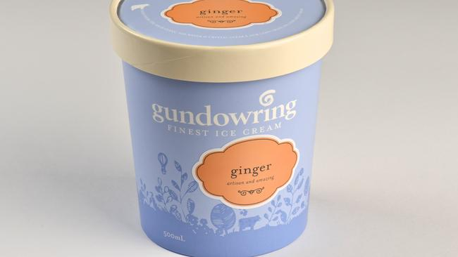 Gundowring ginger ice cream was named Champion Ice Cream.