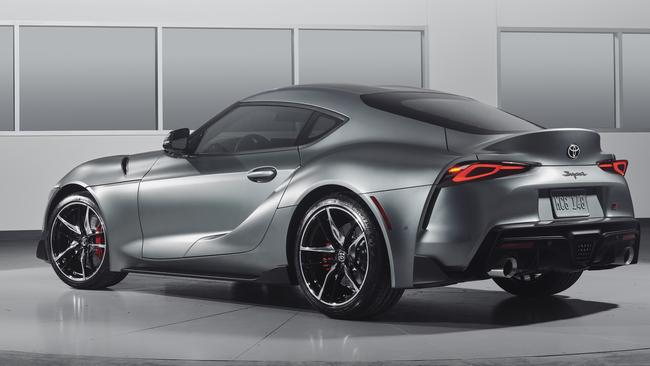 Local examples of the Supra arrive in September.
