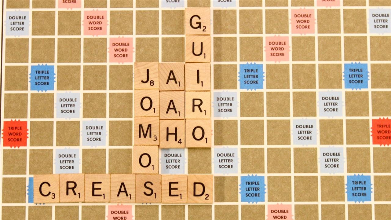 Australian version of Scrabble True blue words hit s fair
