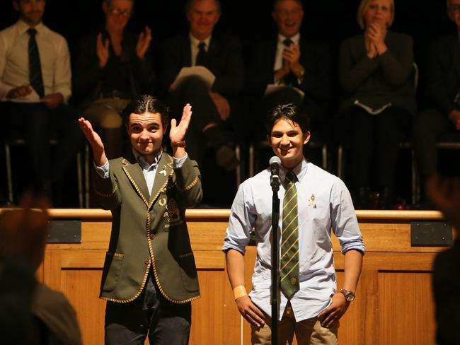 Vice Captains spoke in support of Mr Brown last night. Picture: Stuart McEvoy/The Australian